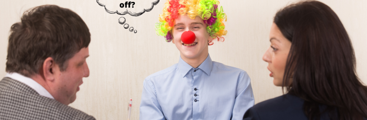 Product Manager acting like a clown